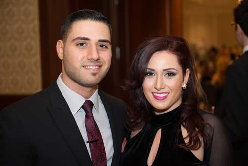 Justin Hanna and Jasmine Hanna