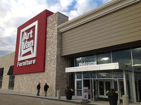Warren Based Art Van Furniture To Open Largest Store Debut Scott