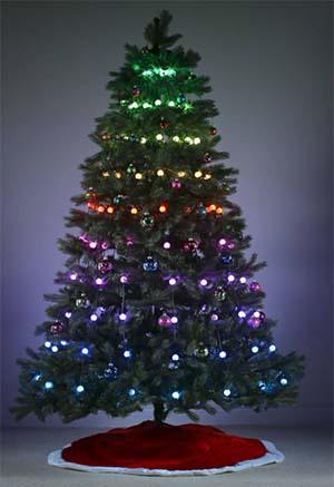 Geekmytree Creates Multi Effect Animated Christmas Tree Light Displays