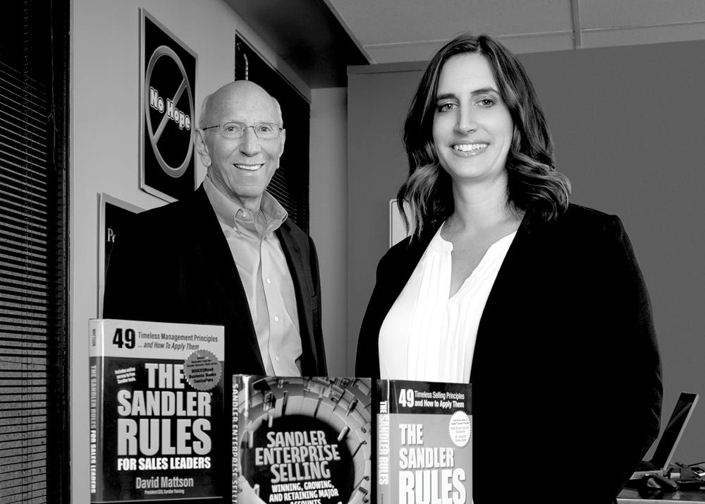 The Faces of Powerful Business Development - Gerry Weinberg & Associates Sandler Training