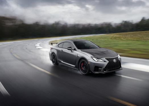 2020 Lexus Rc F Rc F Track Edition Debut In Detroit Dbusiness