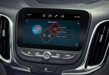 Domino's in-car ordering