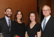 Jessica and Adam Weiner, Nick and Martha DeMiro,JPG