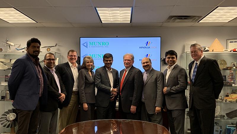 Munro and Associates, Hinduja Tech