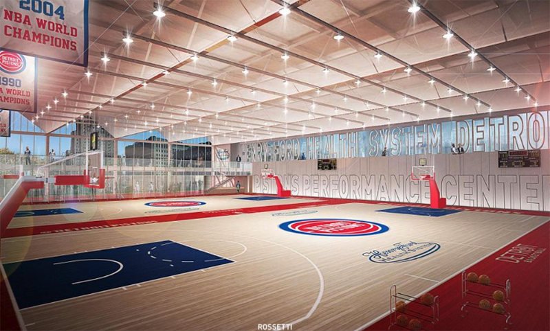 Henry Ford Detroit Pistons Performance Center