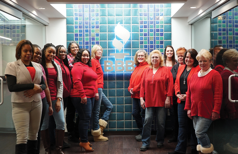 Better Business Bureau staff