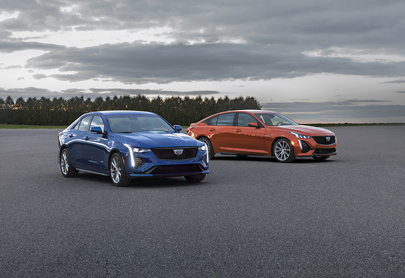 Cadillac 2020 CT4-V and CT5-V