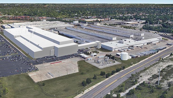 Mack Avenue Assembly complex