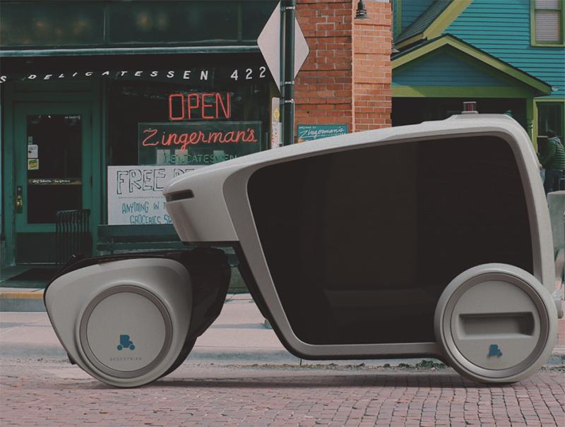 Bedestrian autonomous vehicle