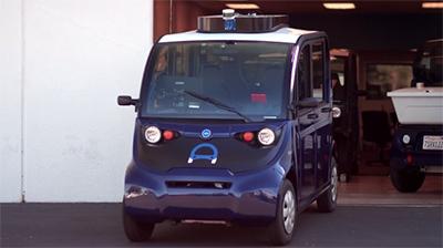 Ridecell autonomous vehicle