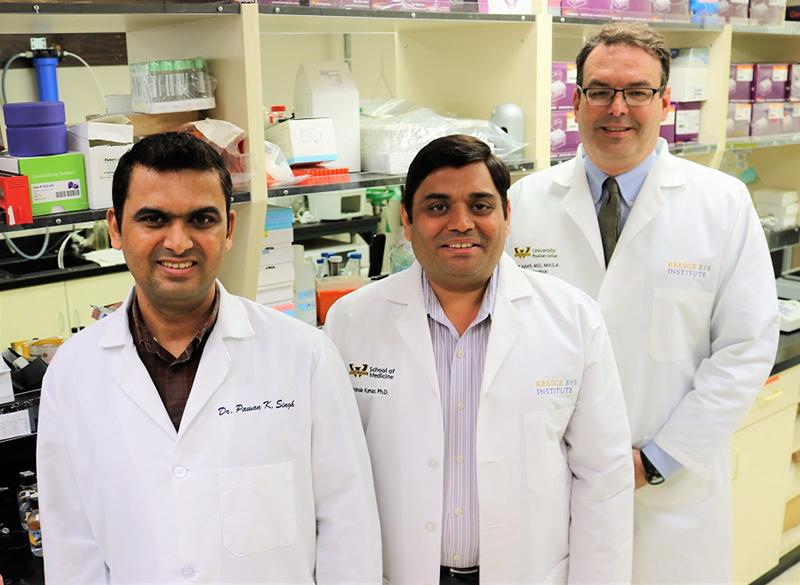 Pawan Kumar Singh, Ashok Kumar, Mark Juzych