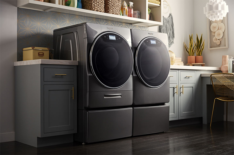 Whirlpool Smart Front Load Laundry Pair
