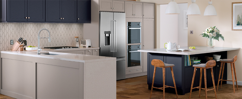Kitchen with Masco Corp. cabinets