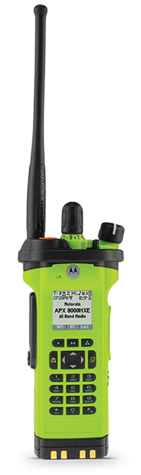 Motorola Solutions portable two-way radio