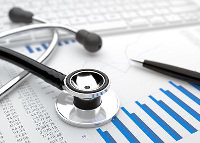stethoscope, charts