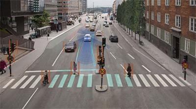 autonomous vehicles in smart city