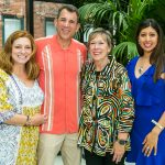 Michele and Anthony Tocco, Betty Priskorn, Dr. Asha Shajahan