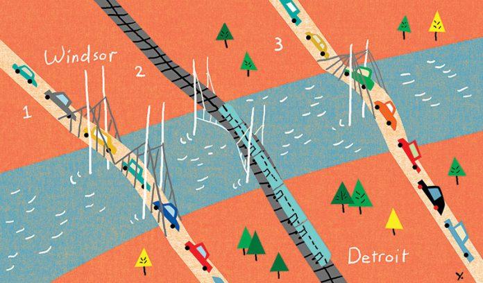 three bridges illustration