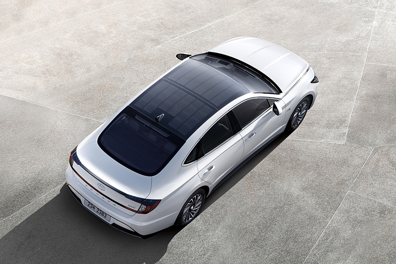 Sonata Hybrid solar roof