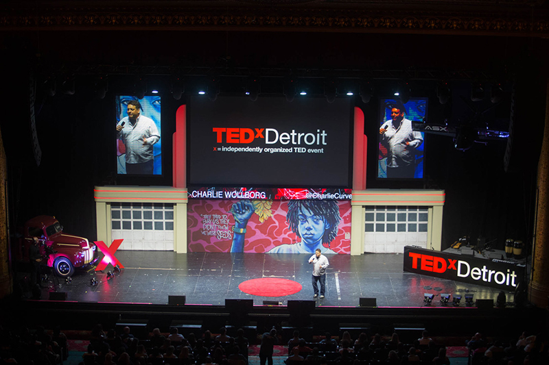 Charlie Wollborg at TEDxDetroit