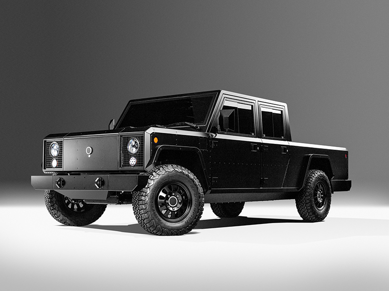 Bollinger Motors B2 electric pickup truck