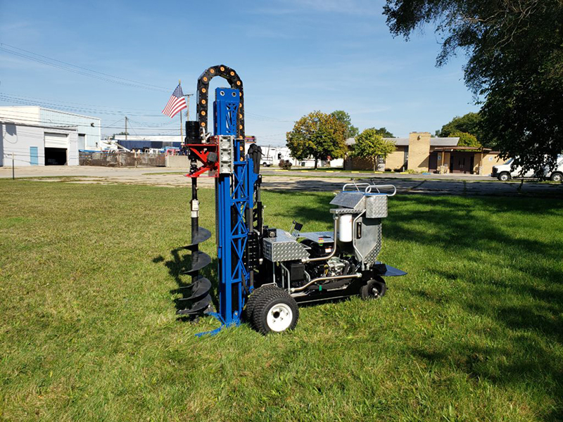 MAZL drill rig