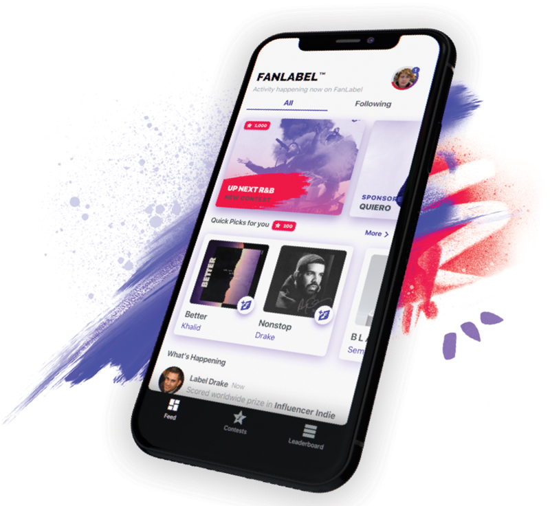 FanLabel app