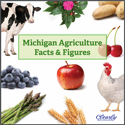 """Michigan Agriculture Facts & Figures"" book"