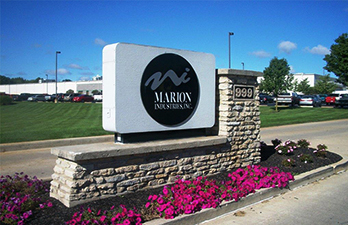 Marion Industries sign