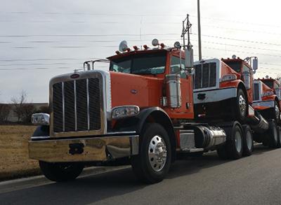 semi truck from Team Drive-Away