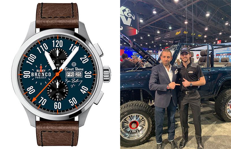 Ernst Benz watch, Leonid Khankin, Ryan Blaney