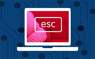 ESC key graphic