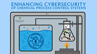 chemical process cybersecurity illustration