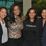 Brittany Johnson, Ngum Suh, Gina Coleman, Roz McNorton