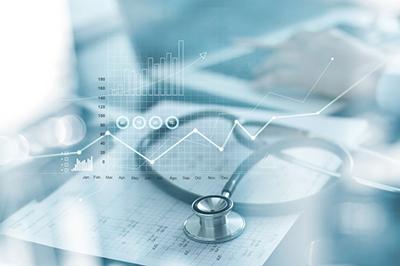 stethoscope and health data