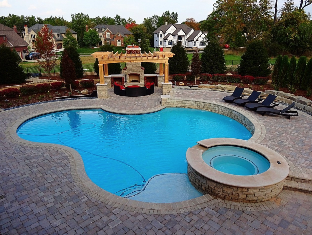 Suburban Collection Showplace Hosting Backyard, Pool, and ...