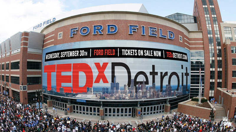 TEDxDetroit at Ford Field