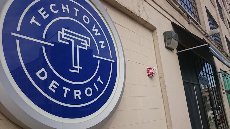 TechTown sign