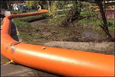 Tiger Dam System tube