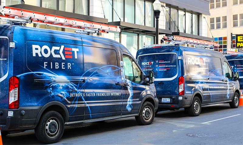 Rocket Fiber vans