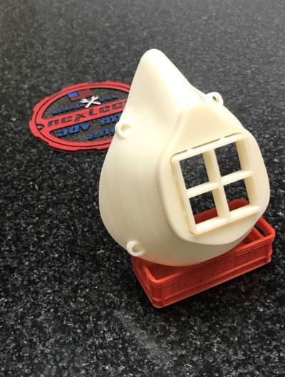 Nexteer 3-D printed mask