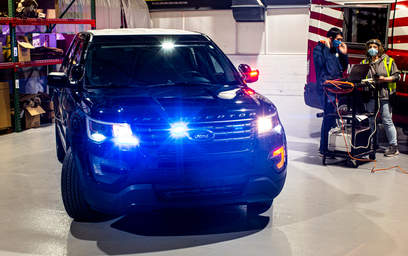 Ford's New Software Will Use Heat To Disinfect Police Cruisers
