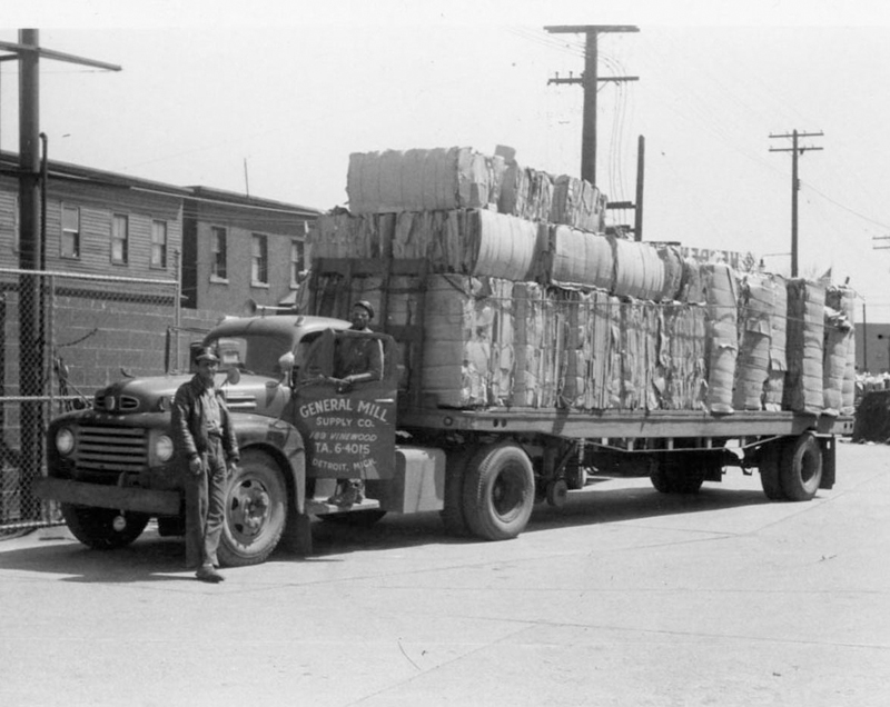 General Mill Supply Co. truck