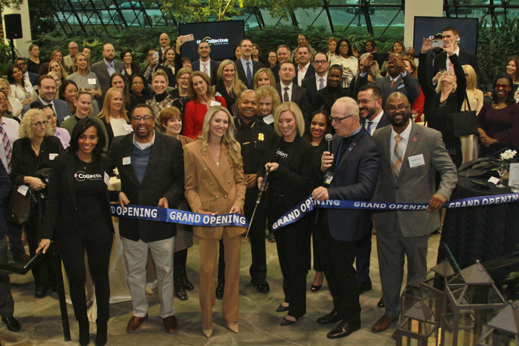 Collective Financial Group ribbon cutting
