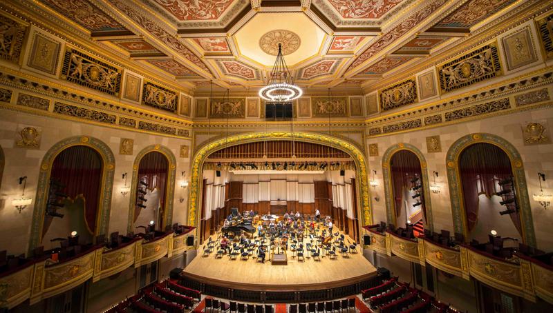 Orchestra Hall interior