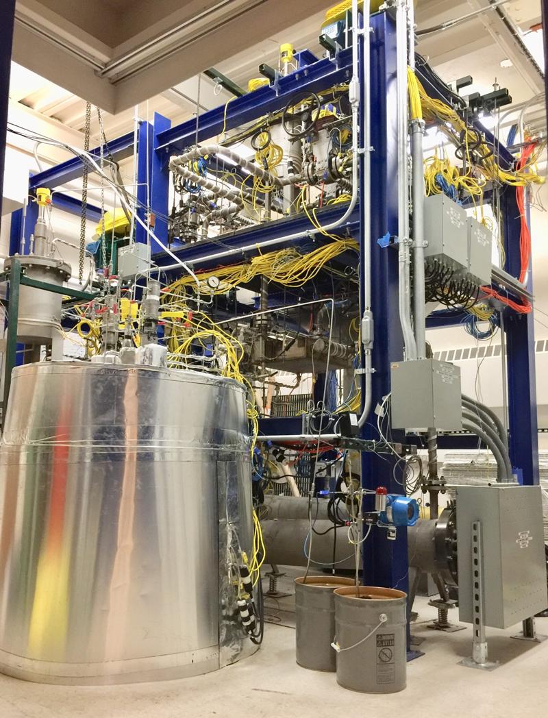 U-M nuclear experimental flow loop