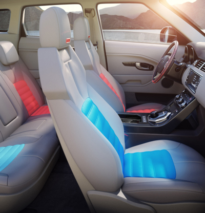 Gentherm vehicle interior